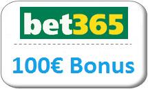bet365 Gutschein 100 Euro Bonus