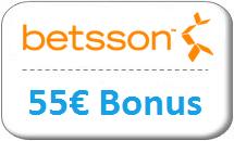 betsson Gutschein 55 Euro
