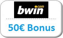bwin Gutschein 50 Euro
