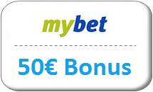 mybet Gutschein 50 Euro